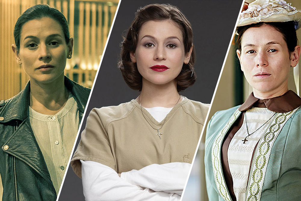 Yael Stone in Deep Water, Orange Is The New Black and Picnic at Hanging Rock