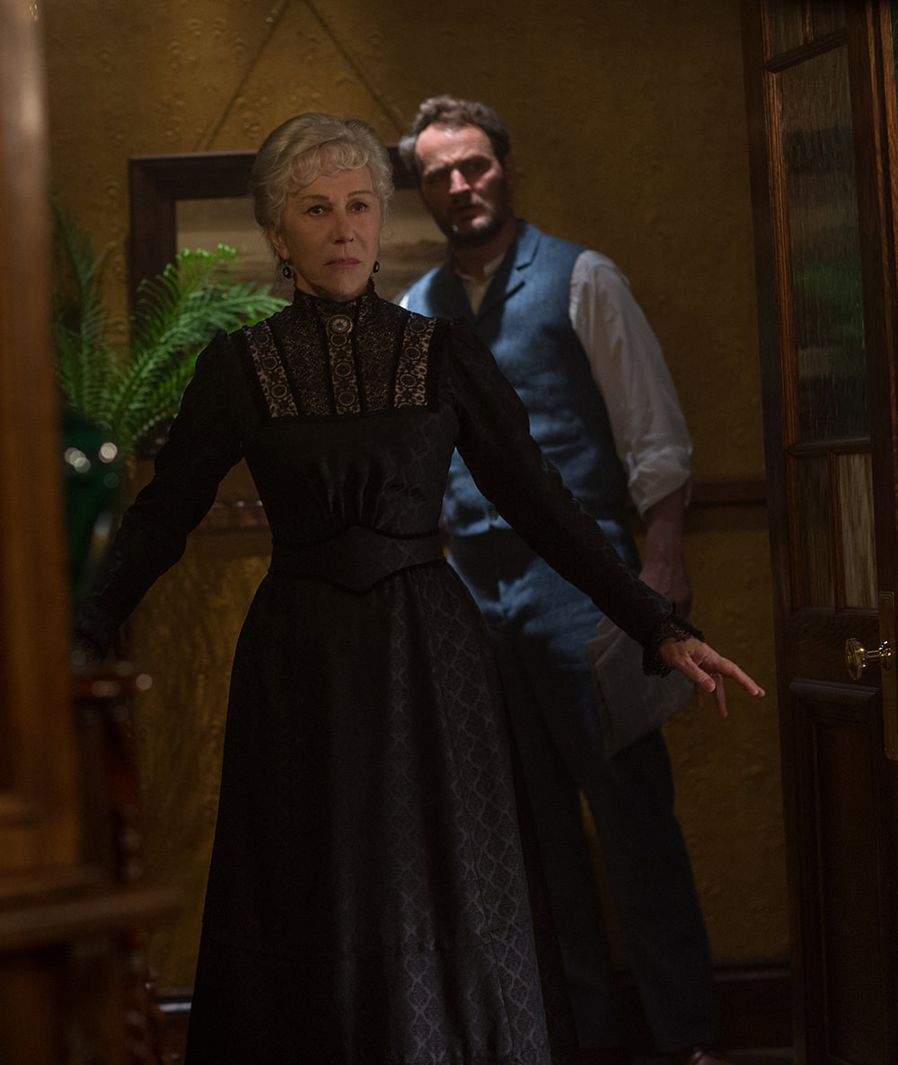 Helen Mirren and Jason Clarke star in <em>Winchester</em>
